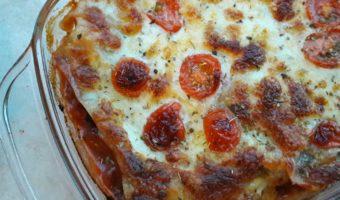Lasagne met kalkoen en mozzerella