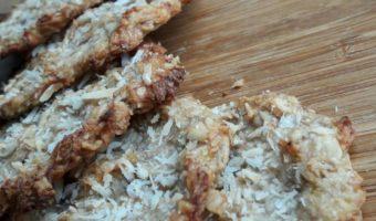 Crunchy kokos koekjes