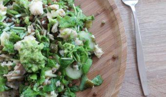 Salade van raapsteeltjes