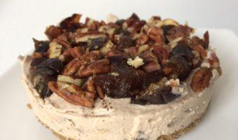 Karamel zeezout cheesecake