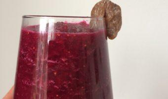 Rode bieten smoothie