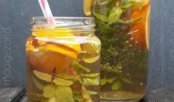 Ice tea orange