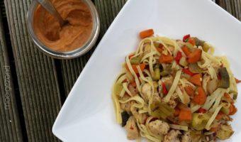 Bami met verse groente's
