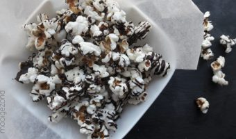 Salted chocolate popcorn