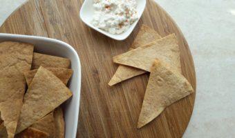 Tortilla chips uit de oven
