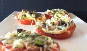 Tomaten pizza's