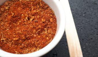 kruidenmix, gegrilde groente, homemade, kruiden mixen, paprika, gember, koriander
