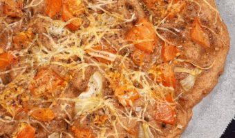 Volkoren Focaccia met tomaat